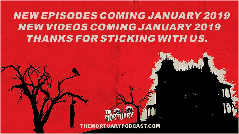 the mortuary podcast horror scary holiday new year