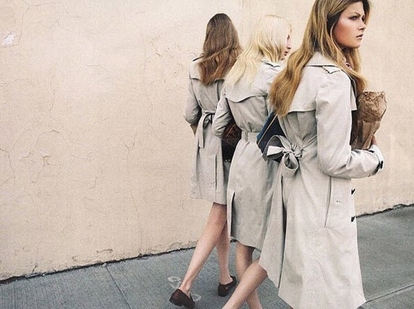Couldn't be more excited about the return of the trench ... a classic staple for every wardrobe. 📷: @shefinds . . .  #lystyles #trenchcoat #fallfashion #timeless #personalstylist #shefinds