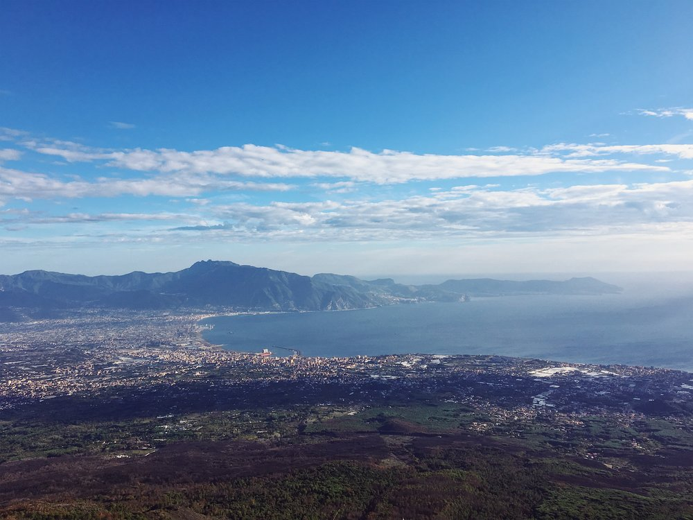 Mount Vesuvius Hike elevated 4,203ft above ground