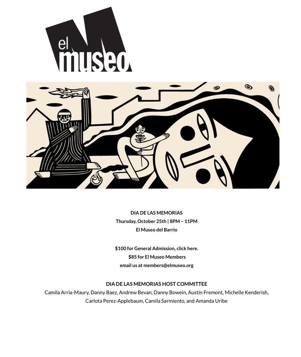 El Museo del Barrio Host Committee