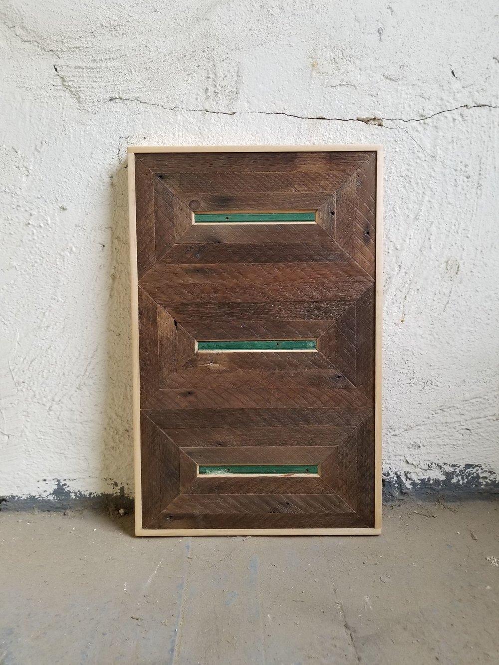 Untitled III   Wood   19 x 12 in