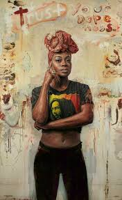 Tim Okamura  Trust Your Dopeness  Print 42 x 28 in