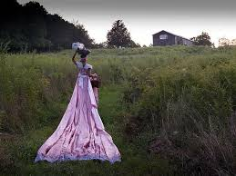 Jodie Lyn-Kee-Chow  Gypsies Picnic  Documentation of performance 16 × 20 in