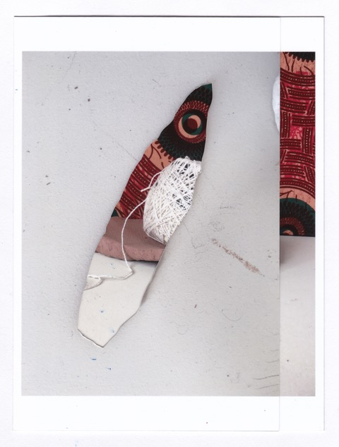 Stephanie Lindquist  Shard  Photo collage     13.5 x 10 in