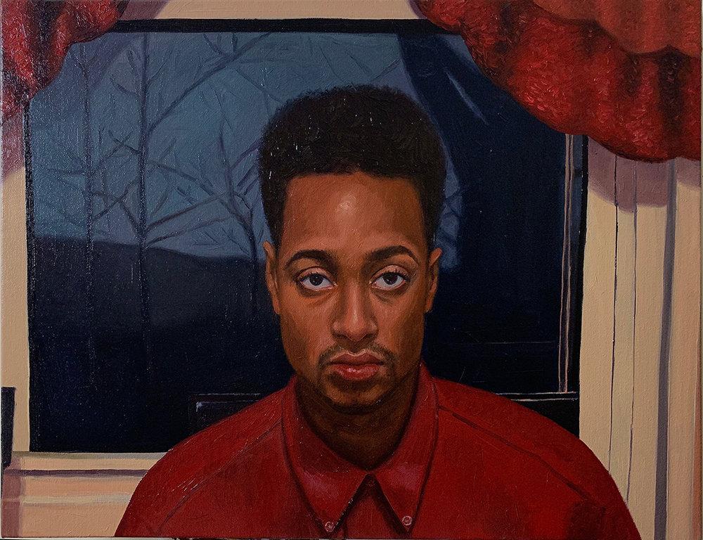 Seth   Oil on canvas 18 x 24 in