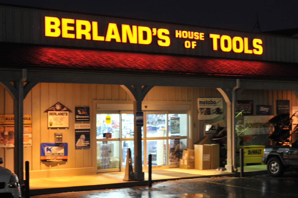 Berland S Vs The Big Box Berland S House Of Tools