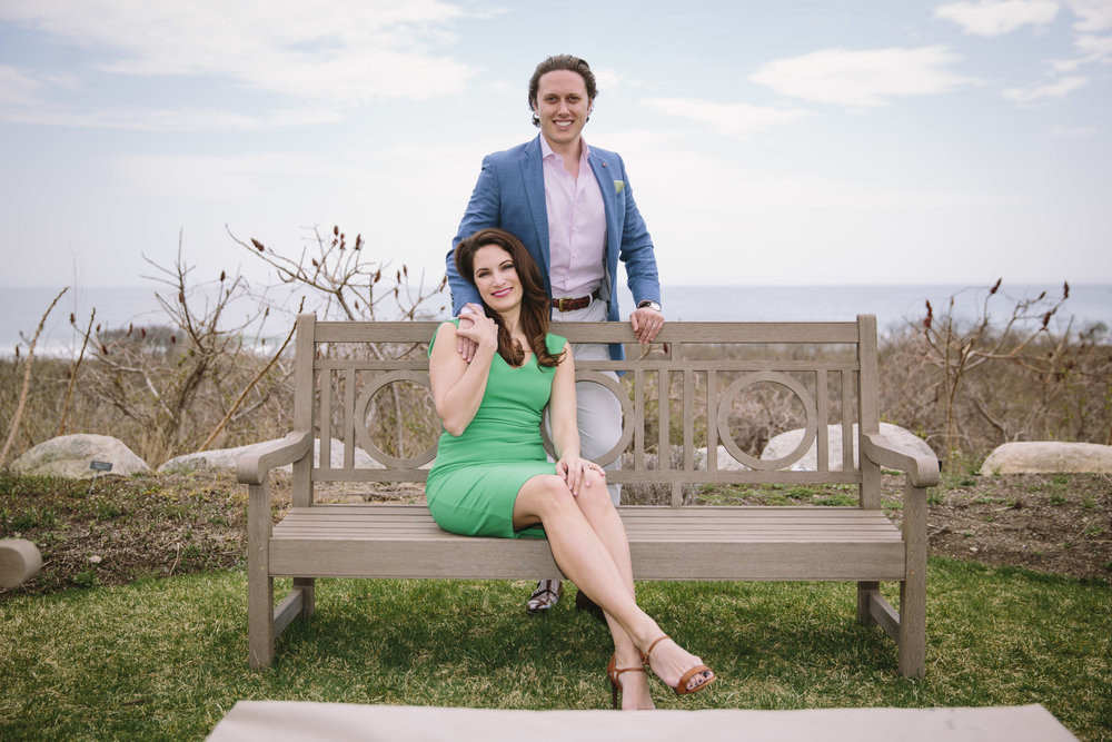 Premium couples portrait. Ocean House, RI.