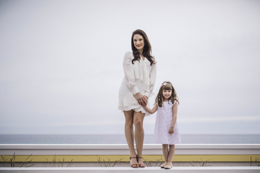 Artistic portrait of mother and daughter by Ivan Djikaev