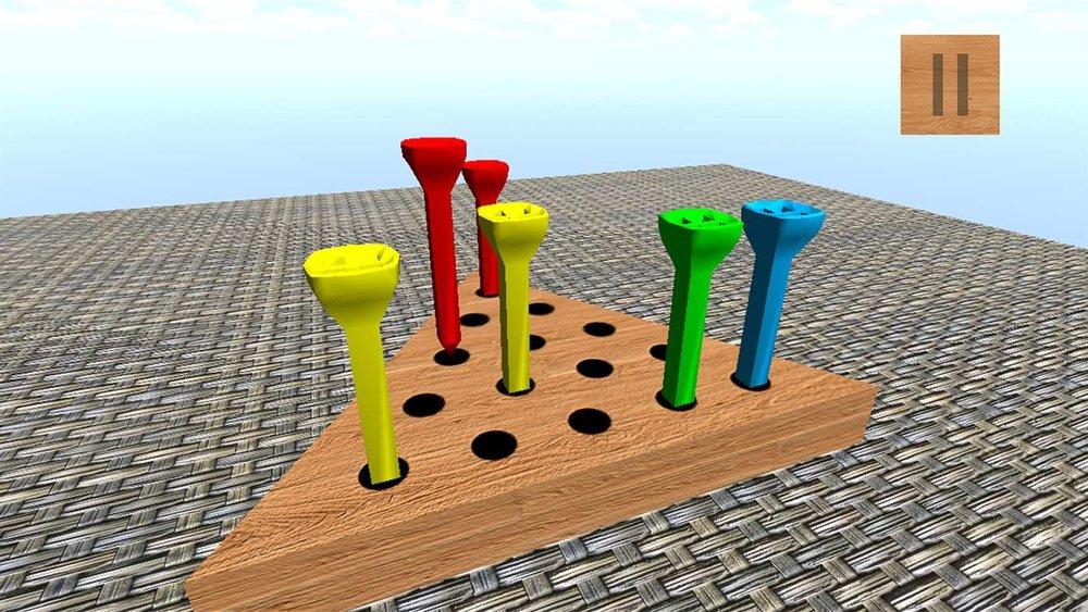 Peg Solitaire 3D