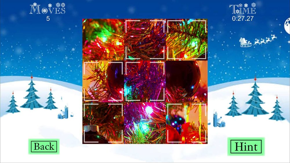Holiday Tile Puzzles