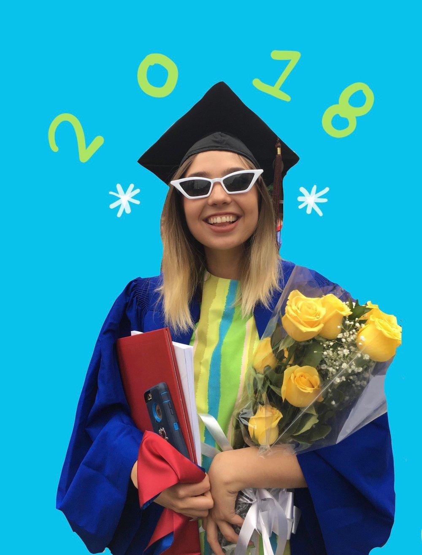 I graduated!