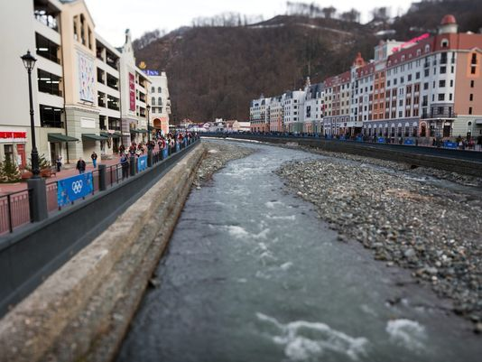 Sochi Games Ruined Environment