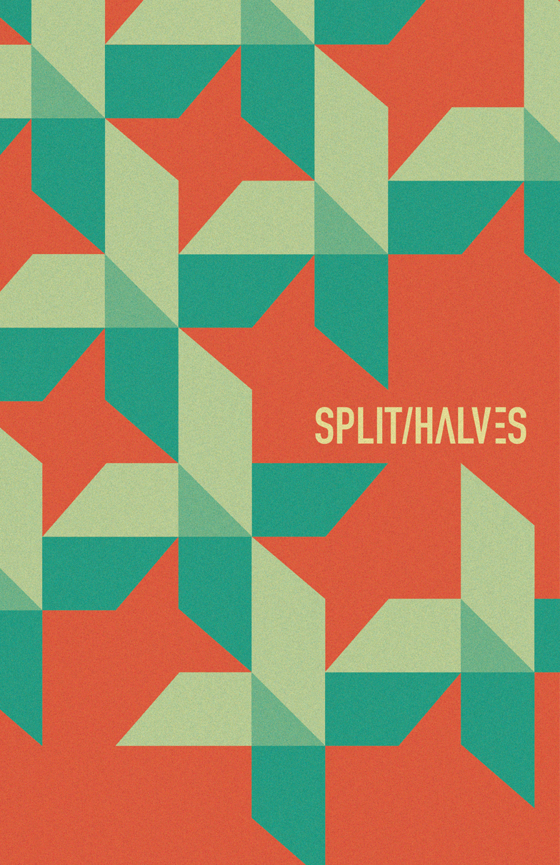 Split Halves Band Poster