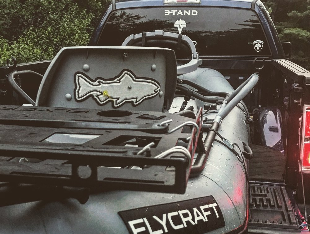 Flycraft fits in the bed of a truck like a glove.
