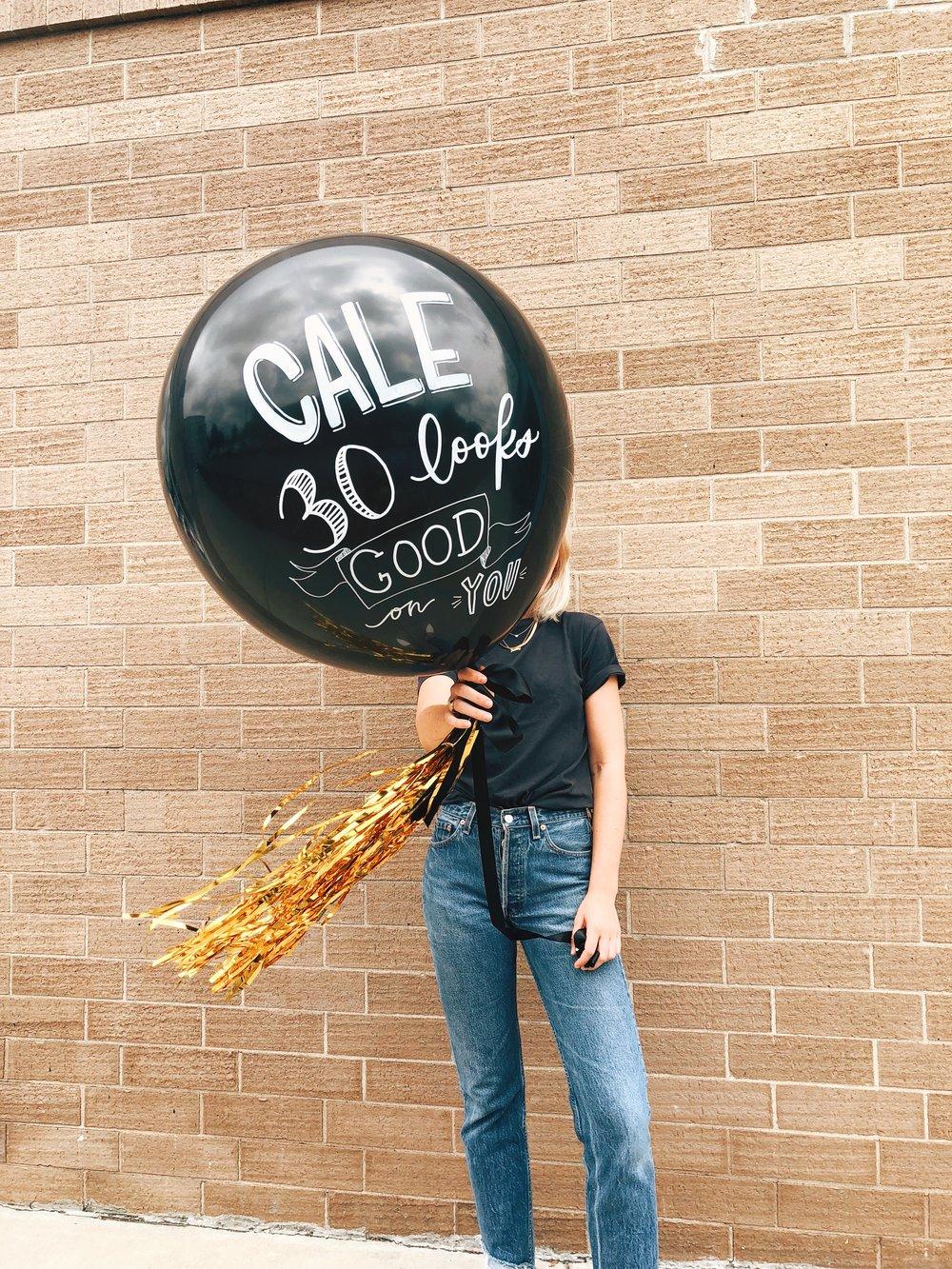 vroom_vroom_balloon_big_birthday_bespoke_hand_lettered_calligraphy_birthday_cale.JPG
