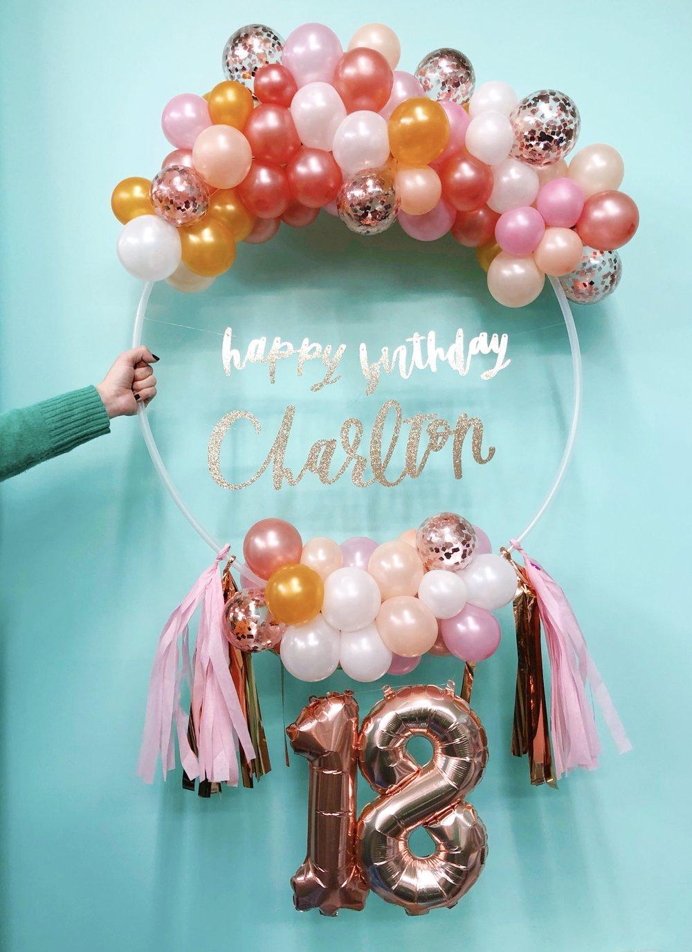 vroom_vroom_balloon_wreath_18_birthday_pink_confetti.jpg