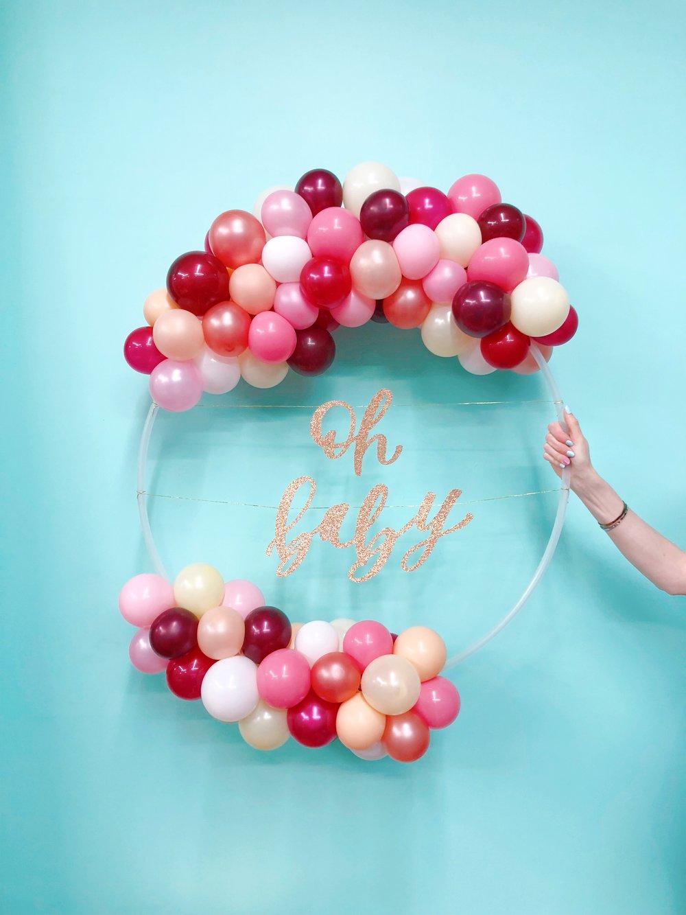 vroom_vroom_balloon_wreath_oh_baby_shower_girsl_pink.JPG