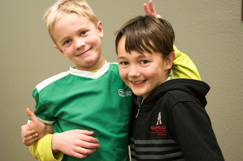Friends at AWANA