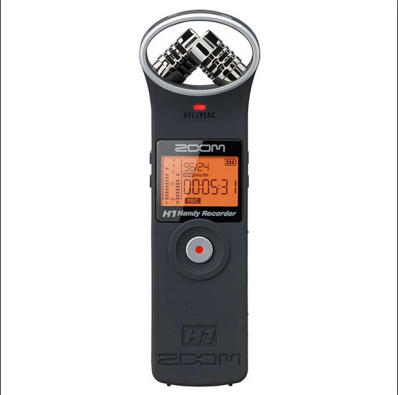 zoom h1 recorder - ALWAYS REMEMBER:Wear your headphones!Keep the microphone close to the mouth for great sound!Make sure the voice you are recording is coming in between -6 and -12 on the left-side levels meter.Double check that you are actually recording!Make sure to do introductions & say where you are.Record two minutes of silence! (even if it feels weird)Make sure you have enough battery power.If you need more AA batteries, go to Benita in the President's Office-- she has them for you!