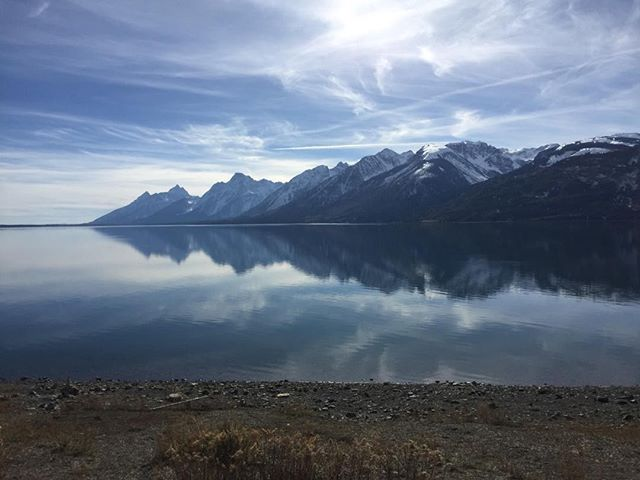 On the way to Grand Teton, October 2017. Shot with iPhone 6.