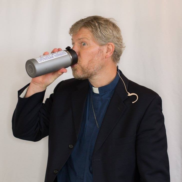 Pastor David Krinke - Pastor David really likes coffee, science, and Pluto (planet or gas giant?). He does not like carrot cake, rhubarb, or nuts in baked goods. If you ever go into his office, good luck making it back out alive.