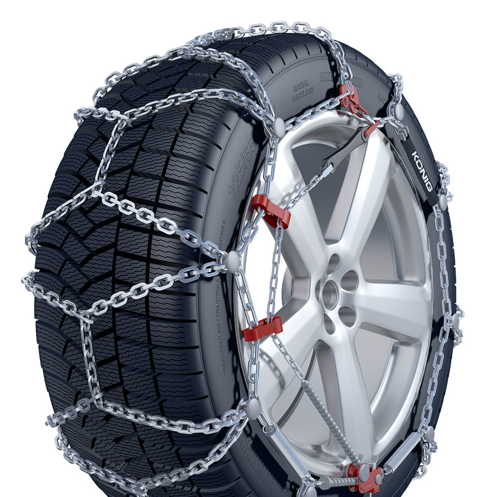 Diamond pattern chains V2 Traction Snow Chain