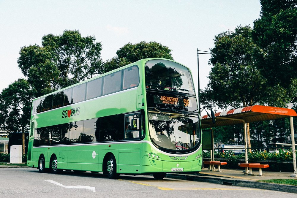 A Tower Transit bus in Singapore