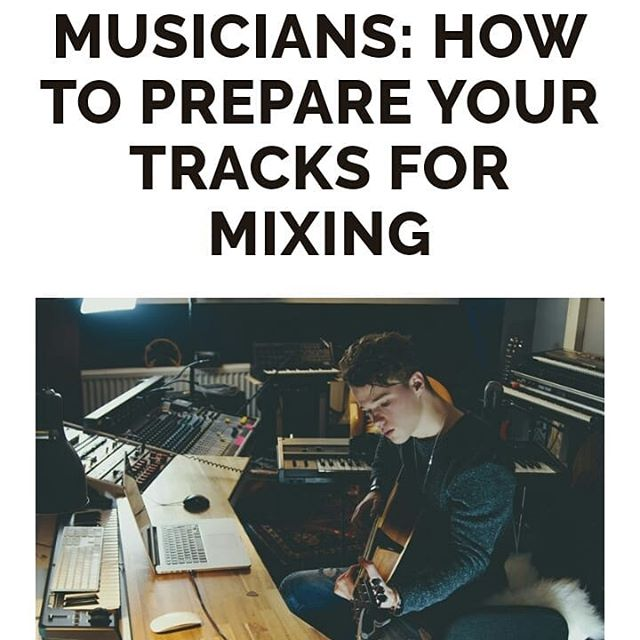 "Hey musician friends! I recently decided to offer a free ""test mix"" to any new customers interested in my mixing services. I've been getting quite a few submissions, so I decided to write a blog  post (link in bio) on how to best prep your tracks for mixing. This will save you a lot of time and headaches when you go to get your precious songs mixed. Hope it helps! Let me know if you have any questions.  #mixing #mastering #recording #homestudio #songwriting #audioengineer #DAW #diyrecording #logicpro #protools #cubase #studioone #reaper #flstudio #workingmusician #indieartist #music #musicblog #howto #album #ep #beat #plugins"