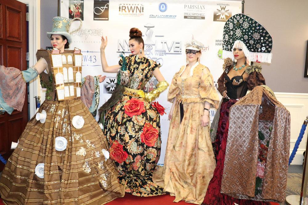 Models: Ivy Dominique, Svetlana Kramar, Libra Lalena