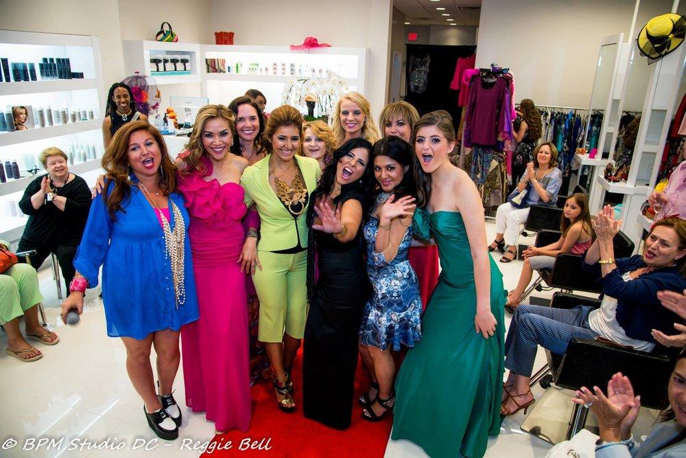 Savvy_Sexy_socia_womens_Networking_club_Keula_Binelly_Happy_hour_fashion_show_Bethesda_Couture_Fashion_Show_Four_Season_Salon_Spa