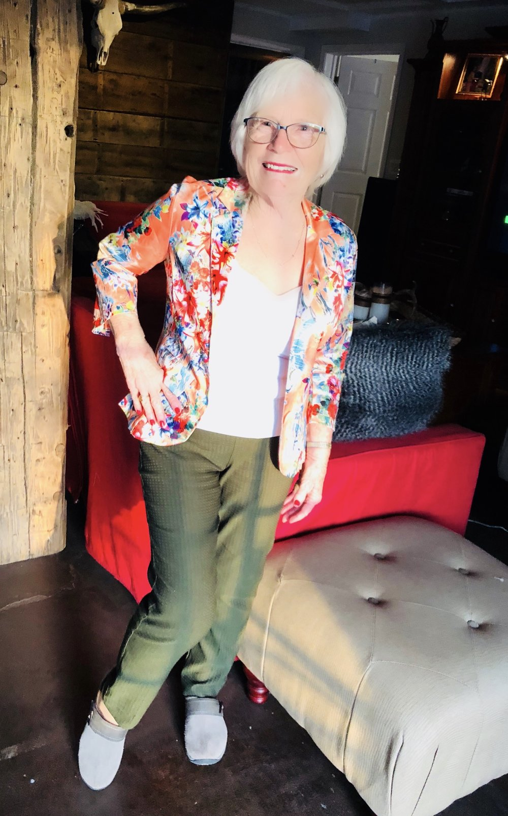 Meet Marian... 82 Years Young Savvy, Sexy & Social Lady. Rocking in Keula Binelly Couture
