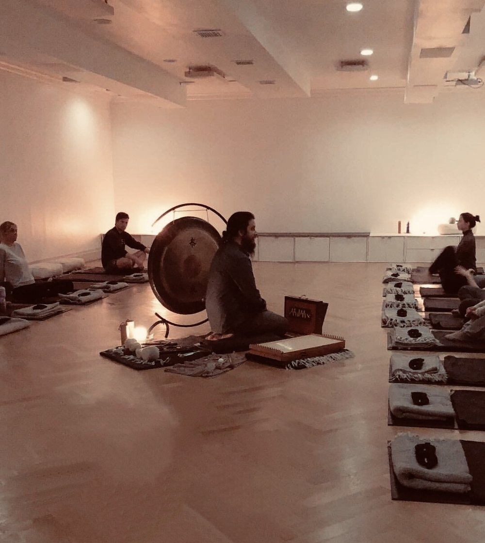 Woom center: an immersive sound experience - …it's like going to the spa for your soul.