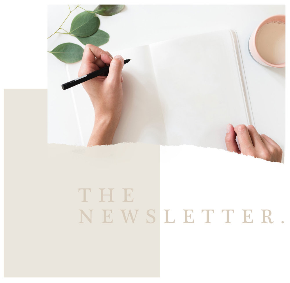 sign up to the foster newsletter