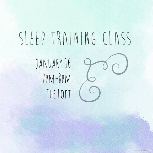 Sleep Training Class with our sleep consultant @evaibushong ! Call the store to sign up, cost is $25!