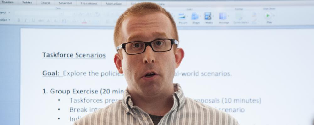 Scott Pollack teaching a workshop