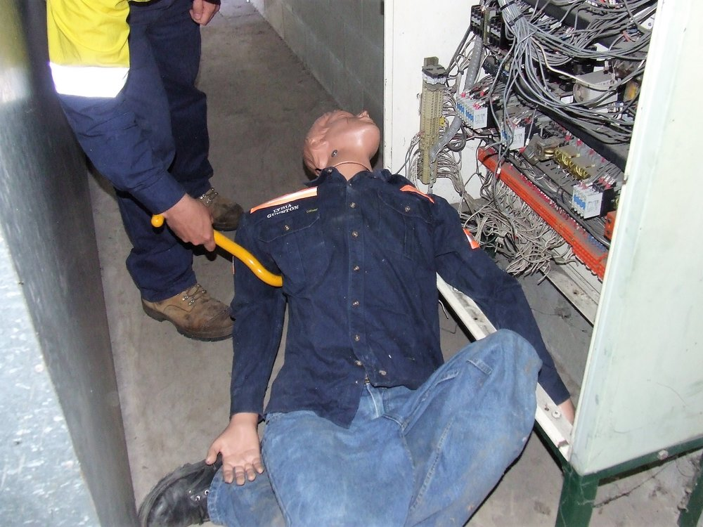 LVR Panel & CPR - This Competency Standard Unit covers the performance of rescue procedures from live Low Voltage (LV) apparatus. It specifies the mandatory requirements of rescue from a live LV panel, this course also provides participants with the confidence and competence required to perform CPR on an unconscious casualty, in the context of those having suffered electrocution