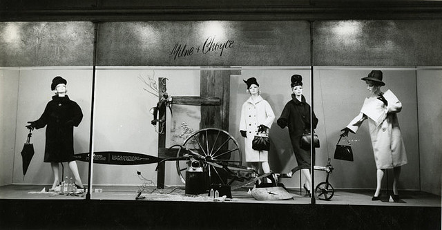 Milne and Choyce Department store window era 1960s