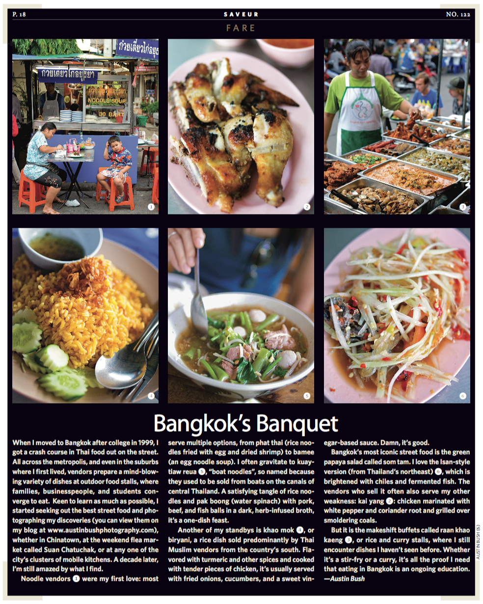 "Photos and text: ""Bangkok's Banquet"", Saveur."