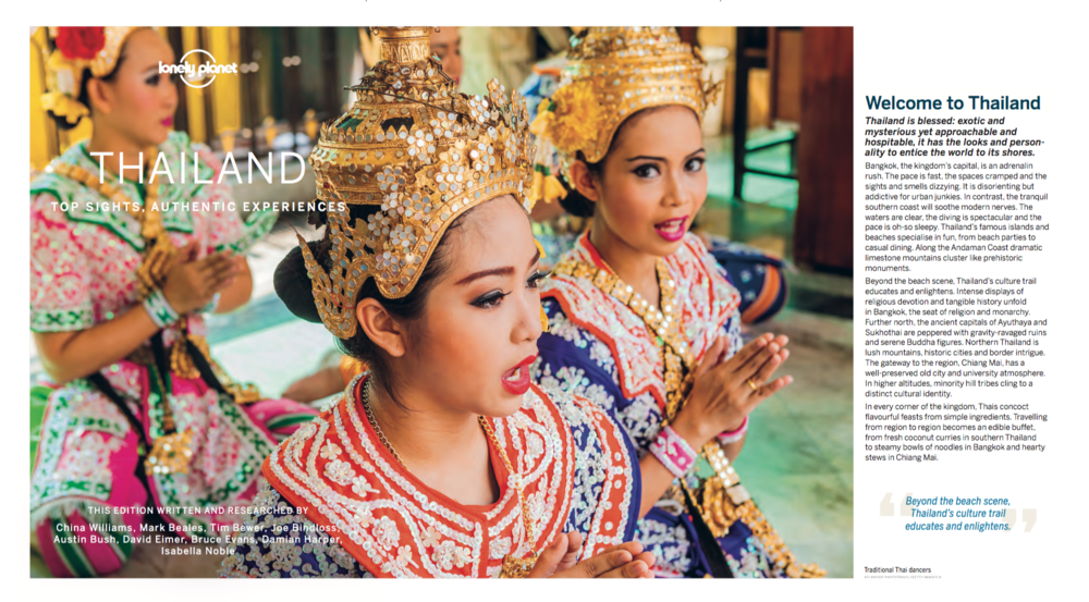 Text:   Best of Thailand  , Lonely Planet.