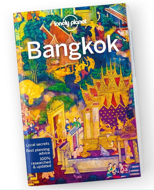 Text:   Bangkok  , Lonely Planet.