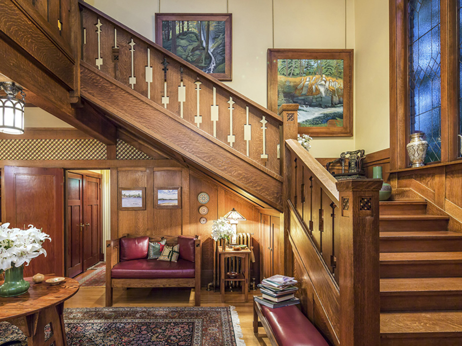 NATIONAL POST – FOR SALE: FOR ARTS & CRAFT LOVERS, A 1912 ORIGINAL IN THE HEART OF VICTORIA; 6,211SF, $2.3M - In a neighbourhood of like-minded, historic designs, minutes from downtown