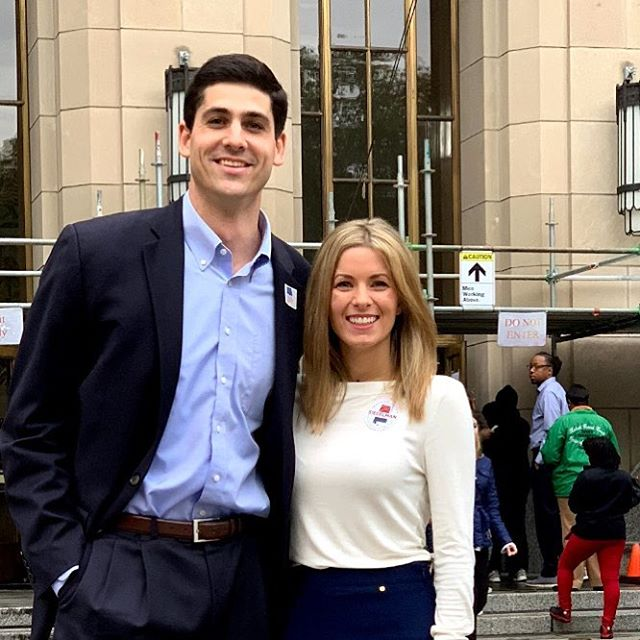 """Have you voted yet? Take a picture with your """"I Voted"""" sticker and share it with #TeamSiegelman to remind your friends to vote!"""