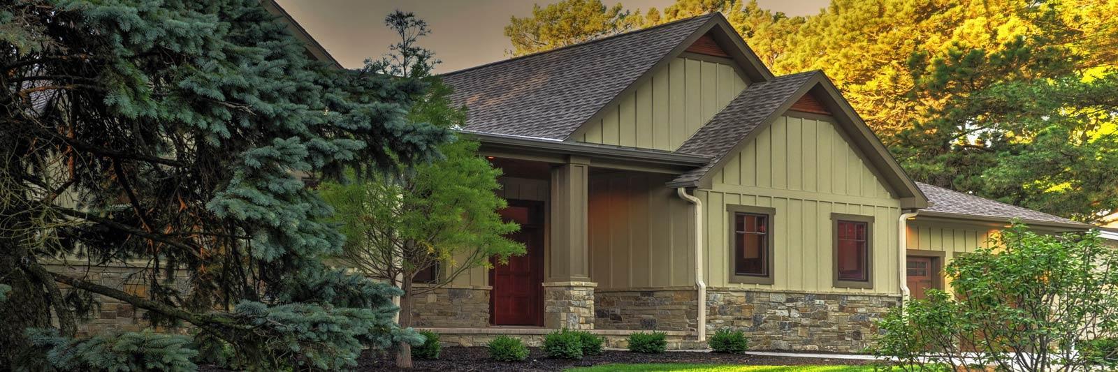 La home builders lincoln nebraska exterior house with