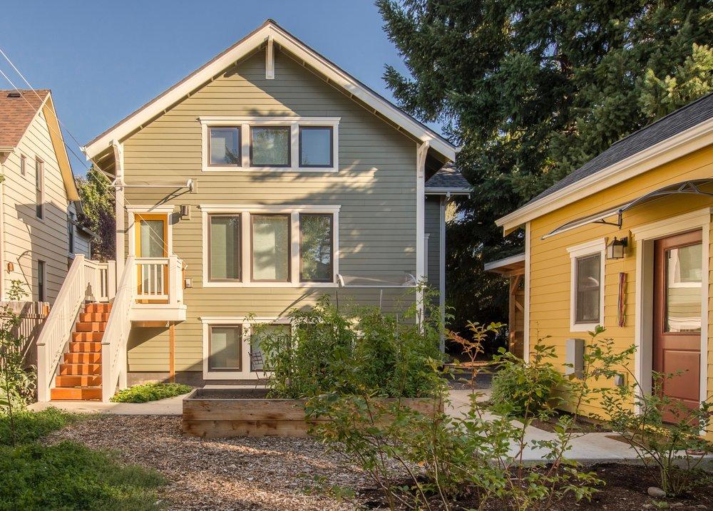 SE Salmon House Exterior Garden