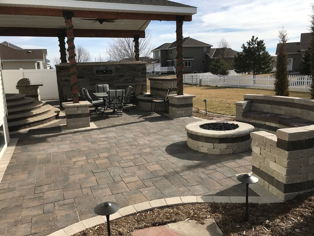 Paver Patios - A sound base equals a lasting surface. We'll design your patio from the ground up with maximum comfort in mind. We double and triple check our base to make sure that your patio will look and feel great for years to come.