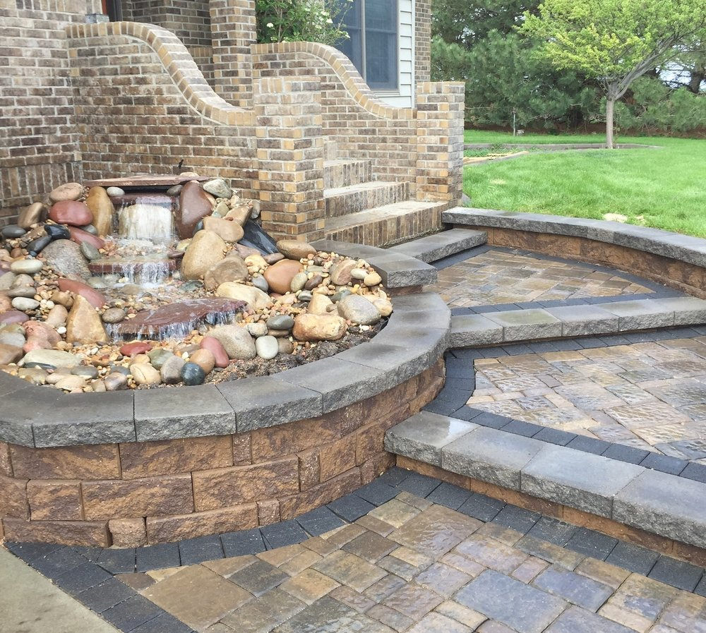 Special Features - If you're looking for the cherry on top, we've got you covered. Our water features, fire pits, stone seating areas, outdoor grill islands, & more are sure to be the convo starter at your next gathering.