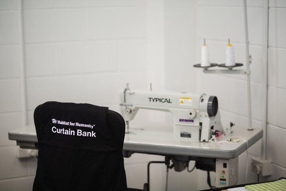 About Habitat Curtain Bank