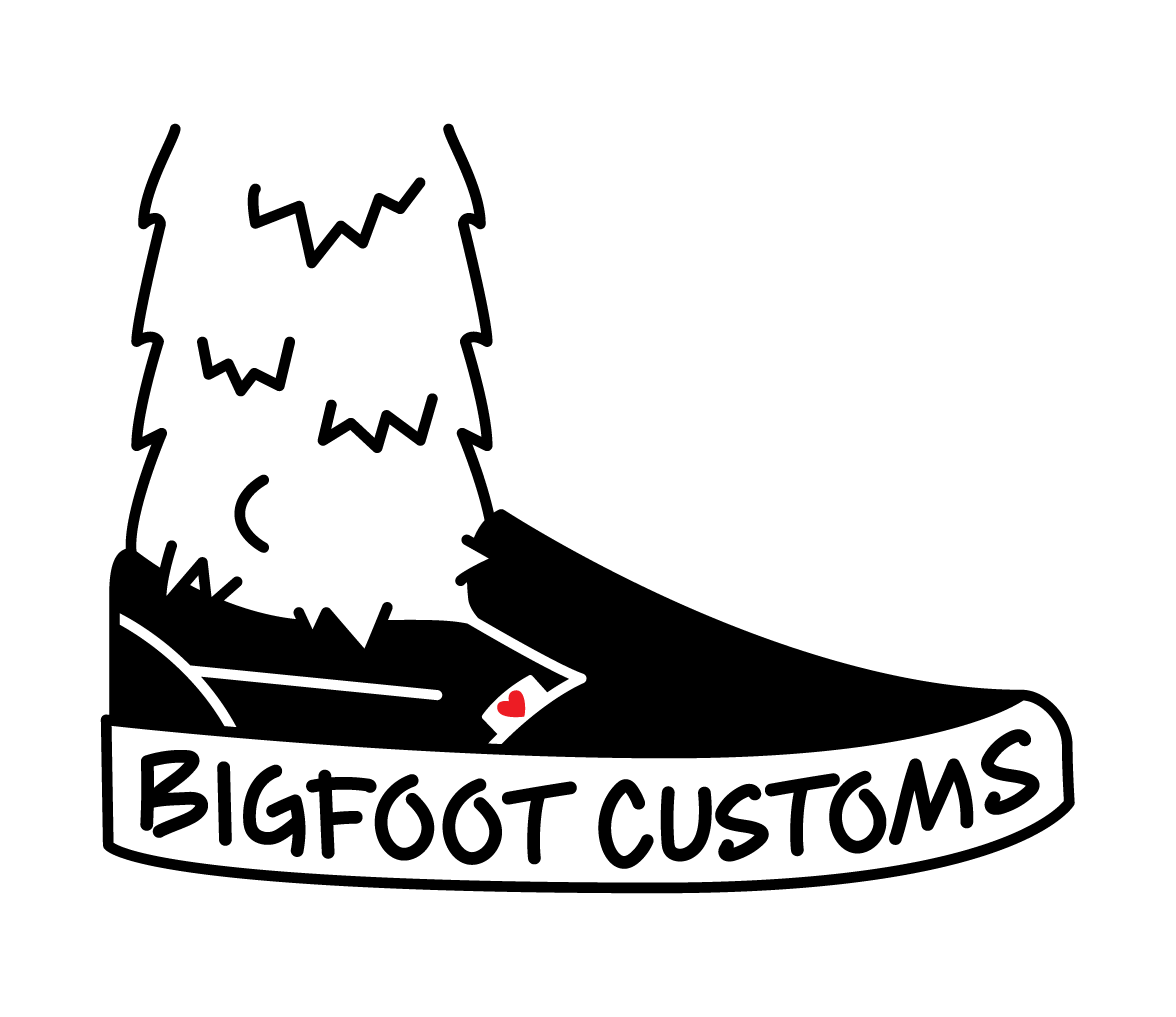 Bigfoot Custom Shoes