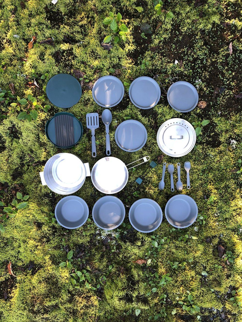 essential camp kitchen tools