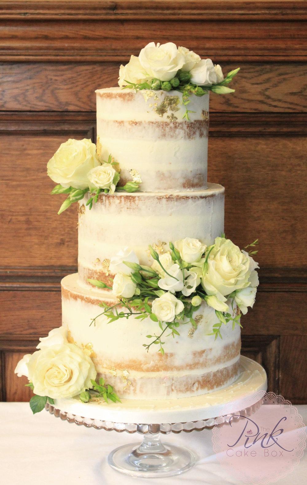 Naked Wedding Cakes — The Pink Cake Box Wedding Cake Design